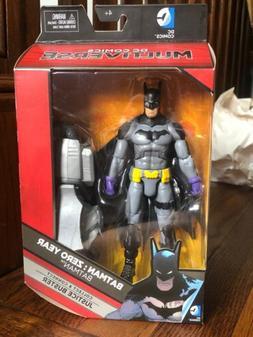 """DC COMICS MULTIVERSE BATMAN ZERO YEAR 6"""" ACTION FIGURE DARK"""