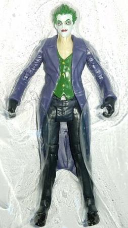 "DC Comics Multiverse THE JOKER 4"" Action Figure Arkham Origi"