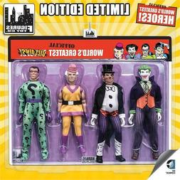 DC Comics Retro 8 Inch Action Figures Official World's Great