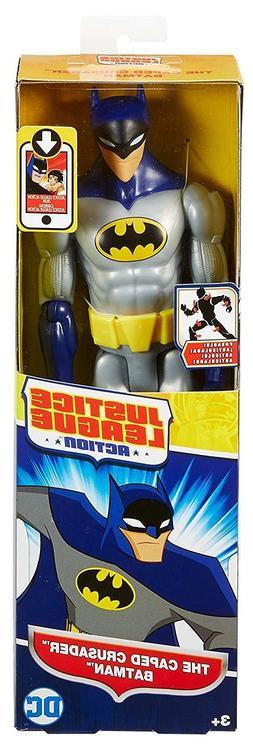 Mattel DC Justice League Action Caped Crusader Batman 12 inc