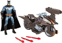 DC Justice League Batman & Batcycle Action Figure, 6""