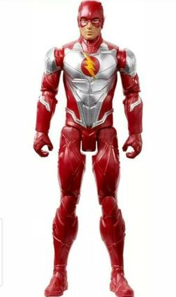 DC Justice League The Flash Metalic Armor 12 Inch Action Fig