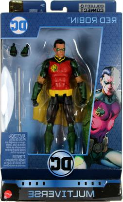 "DC Multiverse ~ 6"" RED ROBIN  ACTION FIGURE ~ Mattel"