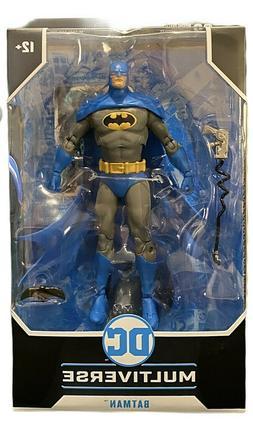 dc multiverse batman 7 action figure blue