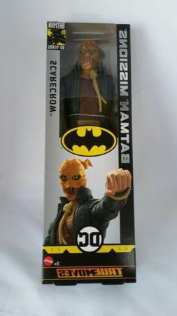 "DC SCARECROW True Moves 12"" Inch Scale Batman Missions Figur"
