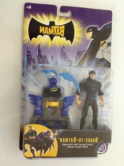 DC THE BATMAN ANIMATED SERIES BRUCE-TO-BATMAN ACTION FIGURE