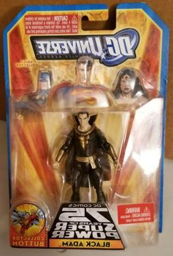 "DC Universe Action Figure 3 3/4""  Black Adam 75 Years Of Sup"