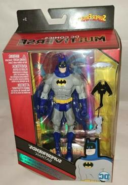 "DC UNIVERSE CLASSICS SUPER FRIENDS BATMAN ACTION FIGURE 6"" M"