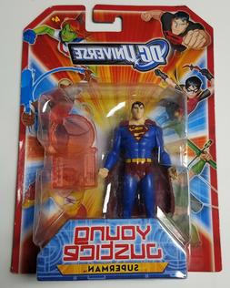"""Mattel DC Universe Young Justice Superman 4"""" Scale Action Fi"""