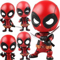 Deadpool Car Bobble Head Shake Head Doll PVC Action Figure C