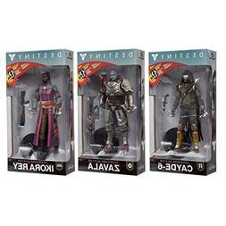 McFarlane Destiny 2: Cayde, Ikora Rey, Zavala Action Figure