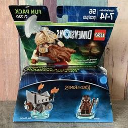 LEGO DIMENSIONS LORD OF THE RINGS GIMLI MINIFIGURE 71220 AXE