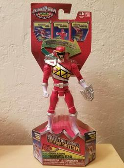"""Power Rangers Dino Charge - 6.5"""" Double Strike Red Ranger Ac"""