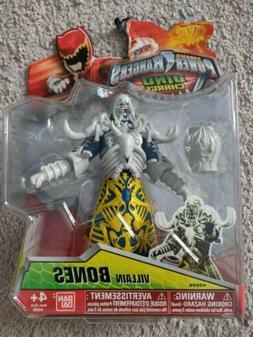"DINO CHARGE Power Rangers BONES VILLAIN 5"" Action Figure 201"