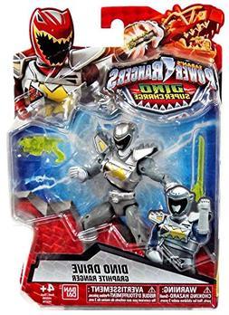 "Power Rangers Dino Super Charge - 5"" Dino Drive Graphite Ran"