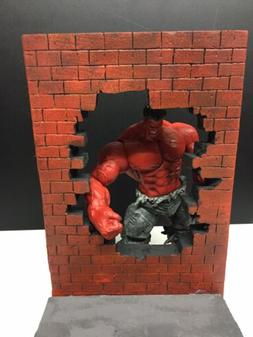 Diorama Action Figure DC Batman Marvel,Hulk, Street Scene