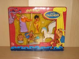 Disney's Hercules Man of Myth 5 Action Figures Playset