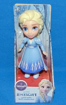 Disney Princess Frozen II MINI ELSA Blue Dress Fringe *MIB*