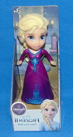 Disney Princess Frozen II MINI ELSA Purple Sparkle *MIB* 3""