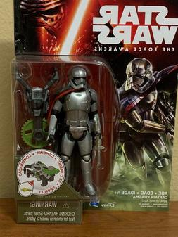 DISNEY HASBRO STAR WARS CAPTAIN PHASMA COLLECTIBLE ACTION FI