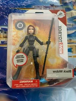 Disney Store Parks Marvel Toy Box Black Widow W/ Batons Acti
