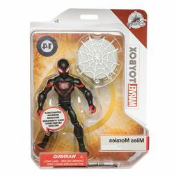 "Disney Store Spiderman MILES MORALES Marvel Toybox 5"" INTO T"