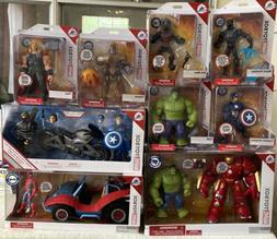 Disney Toybox Action Figure Marvel Hulkbuster Hulk Spider-Ma