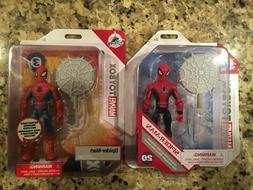 disney toybox spider man red and blue