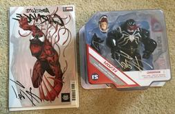 Disney Toybox Marvel Spider-Man VENOM Figure Absolute CARNAG