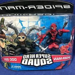 DOC OCK & GREEN GOBLIN +2 SPIDER-MAN Super Hero Squad Figure