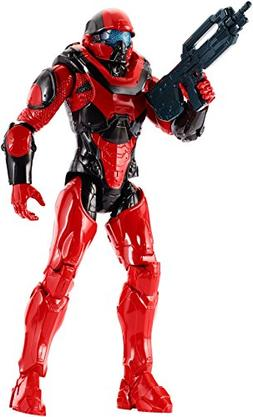 Mattel DPD55 Halo 12-Inch Spartan Athlon Red Team Figure
