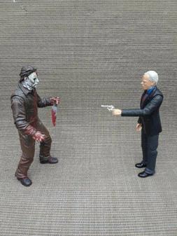 Dr. Loomis Custom Horror Action Figure,Halloween Michael Mye