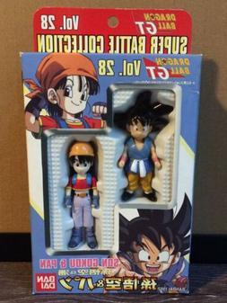 Dragon Ball GT Vol. 28 Son Gokou & Pan Action Figures Bandai
