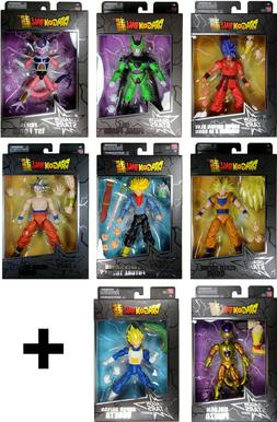 DRAGON BALL STARS ACTION FIGURES SERIES 1,2,3,4,5,6,7,8,9,10
