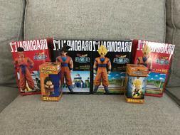Dragon Ball Z Banpresto Collectible Action Figures - Lot of