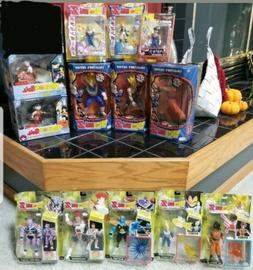 Dragon Ball Z Figures. Jakks, Irwin and Bandai lot of 13! Gr