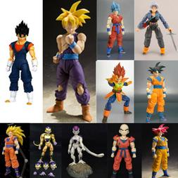 Dragon Ball Z Super Saiyan God Goku Vegetto Vegeta Trunks Fr