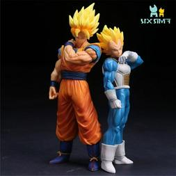 Dragon Ball Z Super Saiyan Goku Vegeta PVC Action Figure Ani