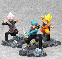 Dragon Ball Z Super Saiyan Zamasu Goku Son Gokou Trunks 3 pc