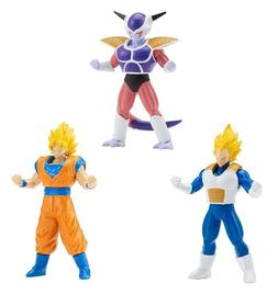 BANDAI   DRAGONBALL SUPER POWER-UP set of 3 3.5 inch action