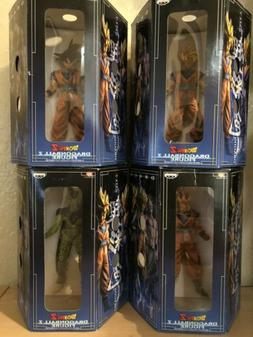 Banpresto Dragonball Z Figures Lot - Super Saiyan Goku, Cell