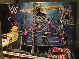 WWE Tough Talkers Championship Takedown Ring Playset Kids To