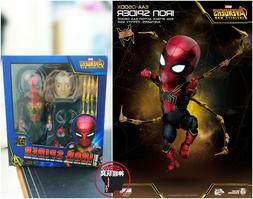BEAST KINGDOM Egg Attack Action EAA-060DX Iron Spider Man Av