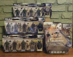 BBI Elite Force 1/18 Action Figures Marine Army Rangers Navy