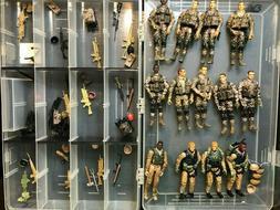 Bbi Elite Force 1:18 figures Desert Style Camo LOT OF 13 WIT