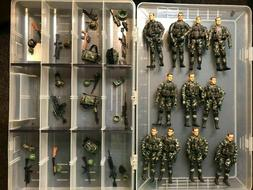 Bbi Elite Force 1:18 figures LOT OF 11 WITH ACCESSORIES