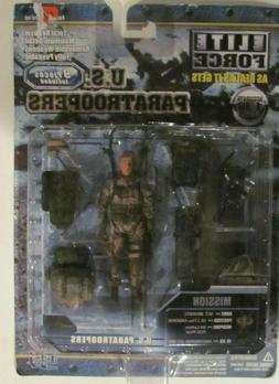 BBI Elite Force 1:18 scale figure  US Paratroopers Sgt Brook