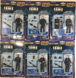 BBI Elite Force 1:18 SWAT Team Complete Set Of 6 Figures Bre