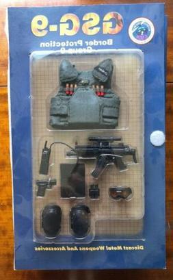 Blue Box Elite Force Action Figure German Accessories GSG-9