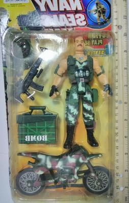 ELITE FORCE ACTION FIGURE TOY KIDS REALISTIC SCALE Navy Mili